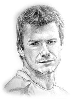 David Beckham by picturedraw